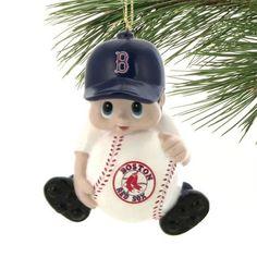 Boston Red Sox Lil' Fan Baseball Player Acrylic Ornament - $7.99