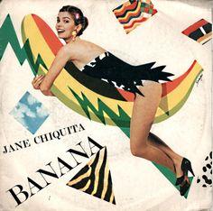 jane chiquita - banana Banana Art, Disney Characters, Fictional Characters, Costumes, Denim, Disney Princess, Paper, Funny, Sleeves