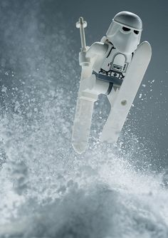 LEGO Snowtrooper Action Shot