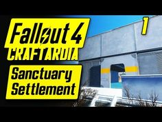 Fix Sanctuary Houses (Add Roofs, Walls & Doors): Fallout 4 Tips & Tricks Ep. Fallout 4 Tips, Fallout Facts, Skyrim, Walls, Doors, Minecraft Houses, Youtube, Video Games, Buildings