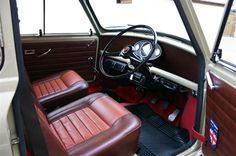 Classic Mini, Classic Cars, Morris Traveller, Mini Cooper Clubman, Madness, Motorcycles, Interior, Projects, Cars