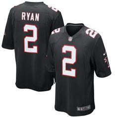 Matt Ryan Atlanta Falcons Nike Alternate Game Jersey – Black