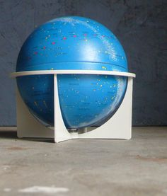 GLOBE~ 1970's Replogle Celestial Star Globe