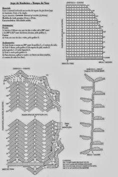 Clube do Crochê: Jogo de Banheiro (com gráfico)6/6