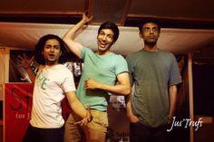 The amazingly hilarious Polished Bottoms - Kenny, Kanan and Kalyan!   07/12/2013