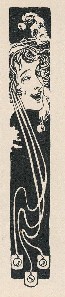 Illustration for Meggendorfer Blätter, by Koloman Moser