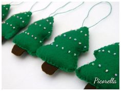 Green Christmas by Coco on Etsy