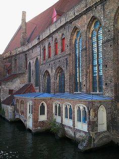 St John's Hospital Museum in Bruges, Belgium.