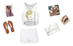 """when is summer coming"" by flores14 ❤ liked on Polyvore featuring Topshop, Aéropostale and MICHAEL Michael Kors"