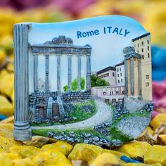 Resin Fridge Magnet: Italy. Rome. Roman Forum