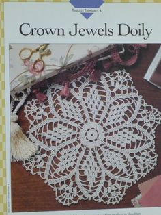 Crown Jewels Doily pattern Vanna's 714 by CarolsCreations77, $2.00