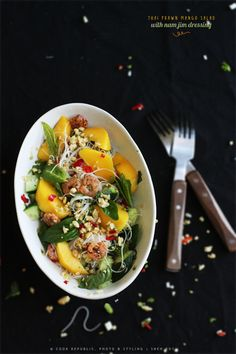 Thai Prawn Mango Salad With Nam Jim Dressing | Cook Republic