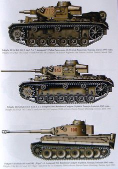 German Panzer Armee Afrika vehicles