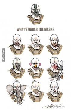 What is under the mask.