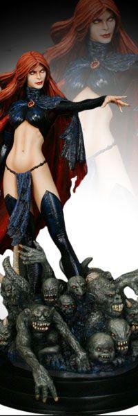 Madelyne Pryor Goblin Queen Statue