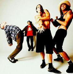 Flea Balzary Chad Smith Anthony Kiedis John Frusciante Red Hot Chili Peppers