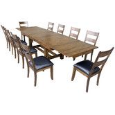 Found it at Wayfair - Mariposa 11 Piece Dining Set