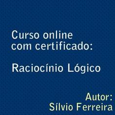 Toni Utilidades: Curso Online com Certificado: Raciocínio Lógico