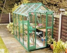 Clifton Silver Frame Greenhouse x Small Greenhouse Kits, Elite Greenhouses, American Chestnut, Potting Sheds, Colorful Plants, Double Doors, Horticulture, Garden Pots, Gardens