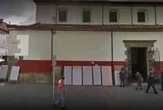 Tomado de Google Maps. Basketball Court, Garage Doors, Google, Outdoor Decor, Home Decor, Places, Decoration Home, Room Decor, Home Interior Design