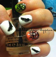 Dream Catcher Nails from daniellelouisejohnson27.blogspot.com