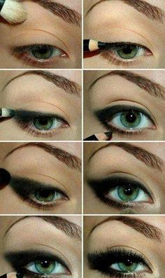 Simple easy smokey eye