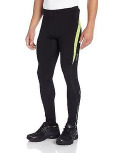 Gore running wear #men's air tights black/neon #yellow #2x-large,  View more on the LINK: http://www.zeppy.io/product/gb/2/311591593962/
