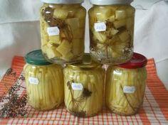 Dovlecei la borcan Conservation, Mason Jars, Dairy, Cheese, Mea, Food, Decor, Gluten, Canning
