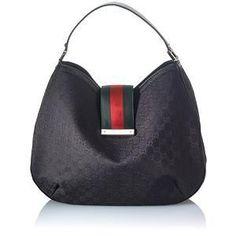 Gucci New Ladies Web Large Hobo Handbag - great idea for inner bag shape. Burberry Handbags, Prada Handbags, Hobo Handbags, Luxury Handbags, Purses And Handbags, Designer Handbags, Gucci Purses, Stylish Handbags, Burberry Bags