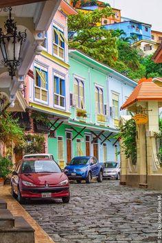Calles Barrio Las Penas, Guayaquil, Ecuador