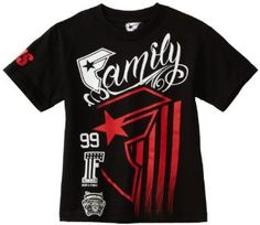 Famous Stars and Straps Boys 8-20 Stripped Rally Youth Tee