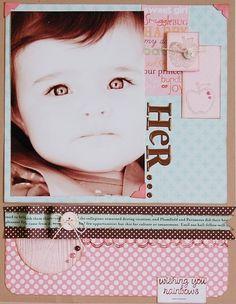 Her scrapbook-layouts