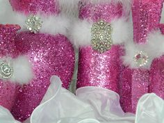 Images For > Pink Centerpieces For Quinceaneras