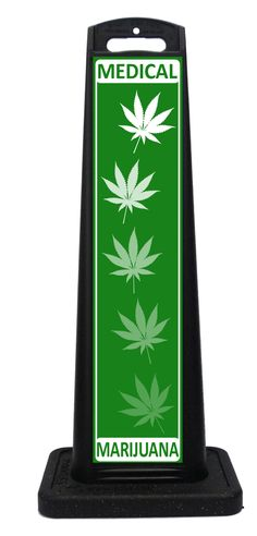 Portable Medical Marijuana sign for establishments medical dispensaries that legally sell cannibas, recreational and medical marijuana. Portable Signs, Sidewalk Signs, A Frame Signs, Custom Labels, Medical Marijuana, Weather, Sandwich Boards, Weather Crafts