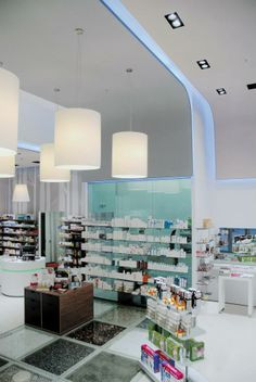Pharmacy designed by Voyatzoglou Systems. Located@McArthurGlen, Spata, V.Gaitanis