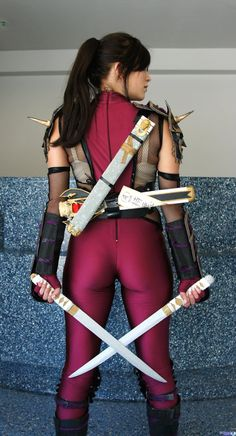 MissSinisterCosplay Taki - Soul Calibur 4 by MissSinisterCosplay.deviantart.com on @deviantART