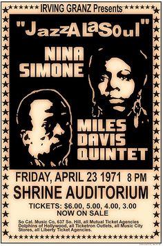 Carnegie Hall, Vintage Concert Posters, Vintage Posters, Music Posters, Madison Square Garden, Kansas City, Miles Davis Quintet, Jazz Poster, Kind Of Blue
