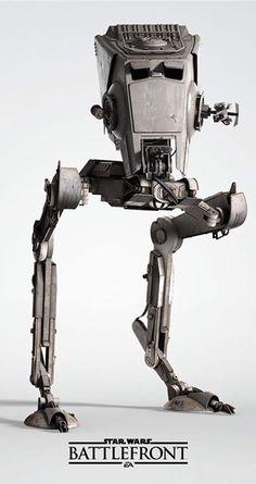 All Terrain Scout Transport - Star Wars Star Wars Rebellen, Nave Star Wars, Star Wars Ships, Chewbacca, Images Star Wars, Star Wars Pictures, Sith, Coleccionables Sideshow, Star Destroyer