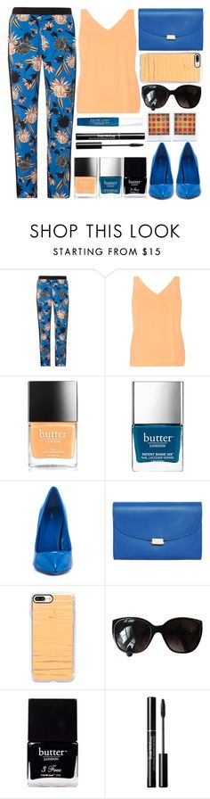 """""""Dorothy Perkins Pants"""" by juliehalloran ❤ liked on Polyvore featuring Dorothy Perkins, Butter London, ALDO, Mansur Gavriel, Casetify, Chanel and L'Oréal Paris"""