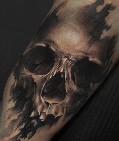 #tattooer #tattooed #Tattooist #tattooart #tattooartist #tattoogirl #tattoosketch #tattoo #portrait #skulltattoo #portraittattoo…