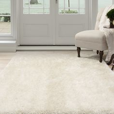 Lavish Home 62-BEI5377 Lavish Home Shag Area Rug, Beige, 5'3' x 7'7' * Check this awesome product by going to the link at the image. (This is an affiliate link) #AreaRugsRunnersandPads