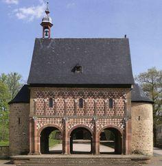 Entrance gate of Lorsch Monastery (764 CE) Germany
