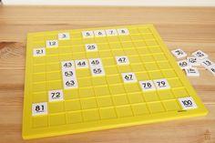 Un tablero numérico es una tabla con los números del 1 al 100 colocados de forma correlativa que sirve para trabajar múltiples aspectos de los números.