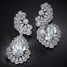 Chopard The Garden of Kalahari diamond earrings