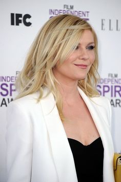 Kirsten Dunst is pretty much the only person I've found as a suitable hair model for me.