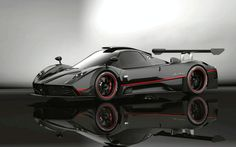 Pagani Zonda Revolucion HD Desktop Wallpaper is hd wallpaper