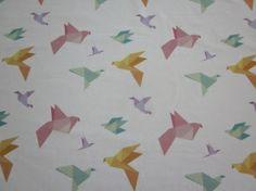 Origami - printti trikoolle Linnel Handmade - Majapuu - design Elina Vaahensalo Duvet Covers, Origami, Kids, Handmade, Design, Home Decor, Young Children, Boys, Hand Made