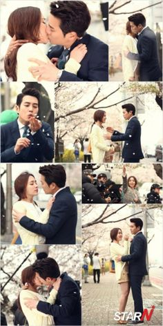 Cunning Single Lady Joo Sang-Wook and Lee Min-Jung the kiss scene #kdrama