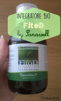 Tersicore: Rewiew Bio products: Integratore Vegetale FitoD by...