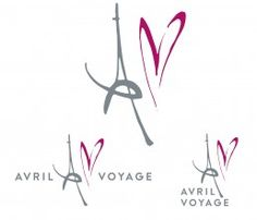 AVRIL VOYAGE Graphic identity for the French-Chinese start-up luxury travel agency Avril Voyage.  Avril Voyage's brief was to include the Eiffel tower, the number 4 and a heart in the logotype. They also wanted to be abel to use the logotype in different layouts and for different purposes. Therefore, I created three possible layouts for the logotype in CMYK and metallic for print, and RBG for digital usage.